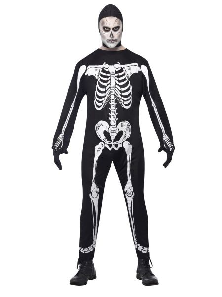 Skeleton Jumpsuite Costume